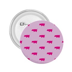 Pig Pink Animals 2 25  Buttons by AnjaniArt