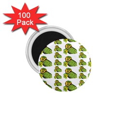 Parrot Bird Green Animals 1 75  Magnets (100 Pack)  by AnjaniArt