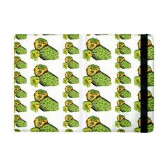 Parrot Bird Green Animals Apple Ipad Mini Flip Case by AnjaniArt