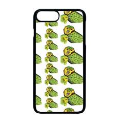 Parrot Bird Green Animals Apple Iphone 7 Plus Seamless Case (black) by AnjaniArt