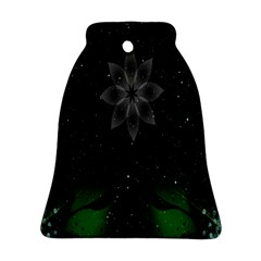 Night Sky Flower Bell Ornament (two Sides) by AnjaniArt