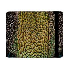 Peacock Bird Feather Color Samsung Galaxy Tab Pro 8.4  Flip Case by AnjaniArt