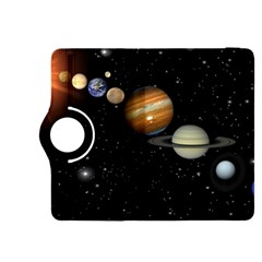 Outer Space Planets Solar System Kindle Fire Hdx 8 9  Flip 360 Case by Onesevenart