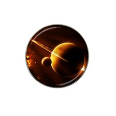 Planets Space Hat Clip Ball Marker by Onesevenart
