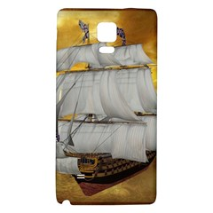 Pirate Ship Galaxy Note 4 Back Case by Onesevenart
