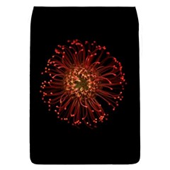 Red Flower Blooming In The Dark Flap Covers (s)  by Onesevenart