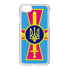 Ensign of The Ukrainian Air Force Apple iPhone 7 Seamless Case (White) by abbeyz71