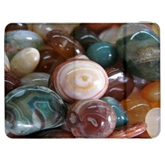Rain Flower Stones Is A Special Type Of Stone Samsung Galaxy Tab 7  P1000 Flip Case by Onesevenart