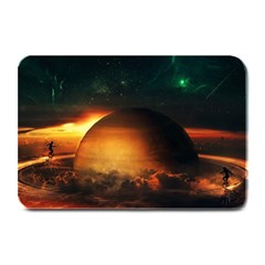 Saturn Rings Fantasy Art Digital Plate Mats