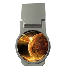 Sci Fi Planet Money Clips (round)  by Onesevenart