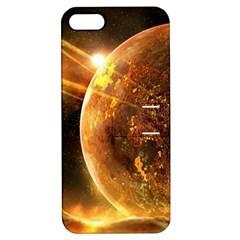 Sci Fi Planet Apple Iphone 5 Hardshell Case With Stand by Onesevenart