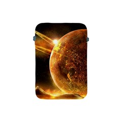 Sci Fi Planet Apple Ipad Mini Protective Soft Cases by Onesevenart