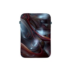 Shells Around Tubes Abstract Apple Ipad Mini Protective Soft Cases by Onesevenart