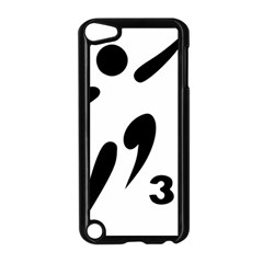 3 On 3 Basketball Pictogram Apple Ipod Touch 5 Case (black) by abbeyz71