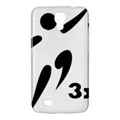 3 On 3 Basketball Pictogram Samsung Galaxy Mega 6 3  I9200 Hardshell Case by abbeyz71