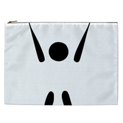 Air Sports Pictogram Cosmetic Bag (xxl)  by abbeyz71