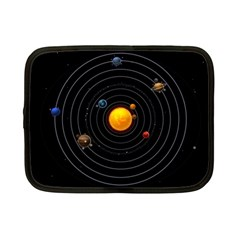 Solar System Netbook Case (small)  by Onesevenart