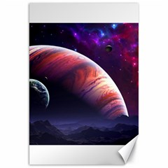 Space Art Nebula Canvas 20  X 30   by Onesevenart