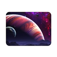 Space Art Nebula Double Sided Flano Blanket (mini)  by Onesevenart