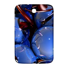 Spheres With Horns 3d Samsung Galaxy Note 8 0 N5100 Hardshell Case  by Onesevenart