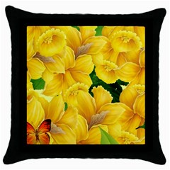 Springs First Arrivals Throw Pillow Case (black) by Onesevenart