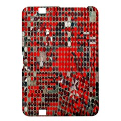 Red Circle Kindle Fire Hd 8 9  by AnjaniArt