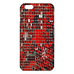 Red Circle Iphone 6 Plus/6s Plus Tpu Case by AnjaniArt