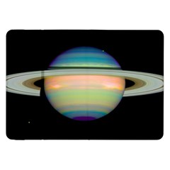 True Color Variety Of The Planet Saturn Samsung Galaxy Tab 8 9  P7300 Flip Case by Onesevenart