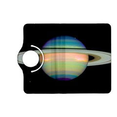 True Color Variety Of The Planet Saturn Kindle Fire Hd (2013) Flip 360 Case by Onesevenart