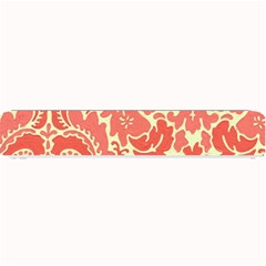Red Floral Small Bar Mats by AnjaniArt