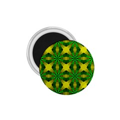 Background Colour Circle Yellow Green 1 75  Magnets by AnjaniArt