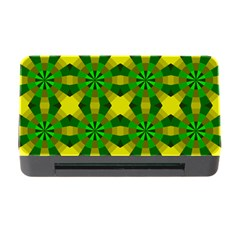 Background Colour Circle Yellow Green Memory Card Reader With Cf by AnjaniArt