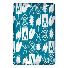 Act Symbols Amazon Kindle Fire Hd (2013) Hardshell Case by AnjaniArt