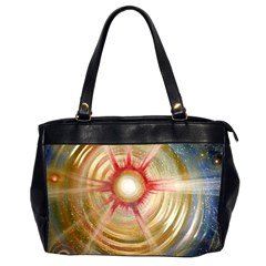 The Painters Universe Office Handbags (2 Sides)  by Onesevenart
