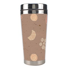 Bread Cake Brown Stainless Steel Travel Tumblers by AnjaniArt