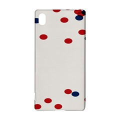 Circle Red Blue Sony Xperia Z3+ by AnjaniArt