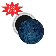 Blue Texture 1 75  Magnets (100 Pack)  by AnjaniArt
