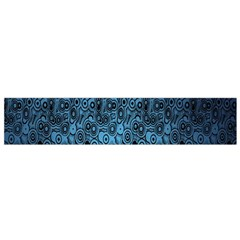 Blue Texture Flano Scarf (small) by AnjaniArt