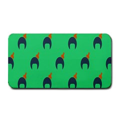 Comb Disco Green Medium Bar Mats by AnjaniArt