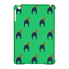Comb Disco Green Apple Ipad Mini Hardshell Case (compatible With Smart Cover) by AnjaniArt