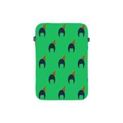Comb Disco Green Apple Ipad Mini Protective Soft Cases by AnjaniArt