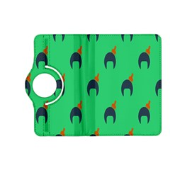 Comb Disco Green Kindle Fire Hd (2013) Flip 360 Case by AnjaniArt
