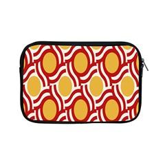 Circle Orange Red Apple Ipad Mini Zipper Cases by AnjaniArt