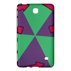 Daily Spinner Signpost Samsung Galaxy Tab 4 (8 ) Hardshell Case  by AnjaniArt