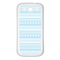 Estampas Pinterest Nautical Digital Scrapbooking Wallpaper Samsung Galaxy S3 Back Case (white) by AnjaniArt