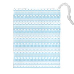 Estampas Pinterest Nautical Digital Scrapbooking Wallpaper Drawstring Pouches (XXL) by AnjaniArt
