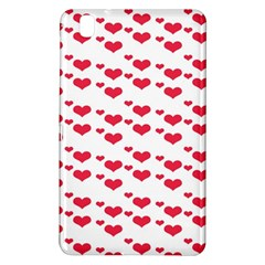 Heart Love Pink Valentine Day Samsung Galaxy Tab Pro 8 4 Hardshell Case by AnjaniArt