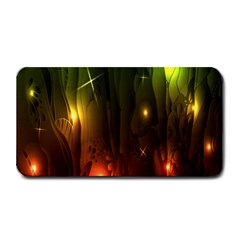 Fractal Manipulations Raw Flower Colored Medium Bar Mats by AnjaniArt