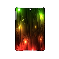 Fractal Manipulations Raw Flower Colored Ipad Mini 2 Hardshell Cases by AnjaniArt
