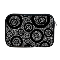 Selected Figures From The Paper Circle Black Hole Apple Macbook Pro 17  Zipper Case by AnjaniArt